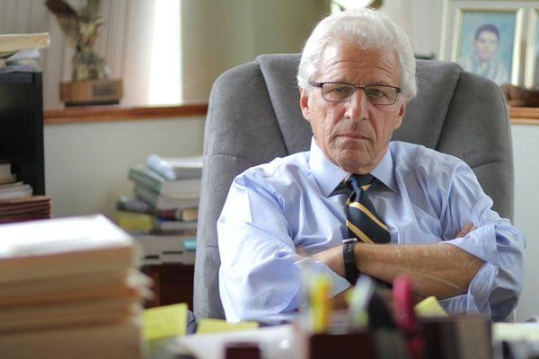 Former Suffolk prosecutor Ray Perini is seen at