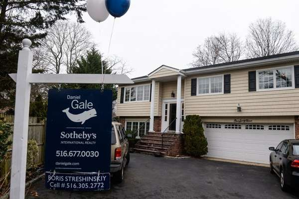 An open house on Berry Hill Court in