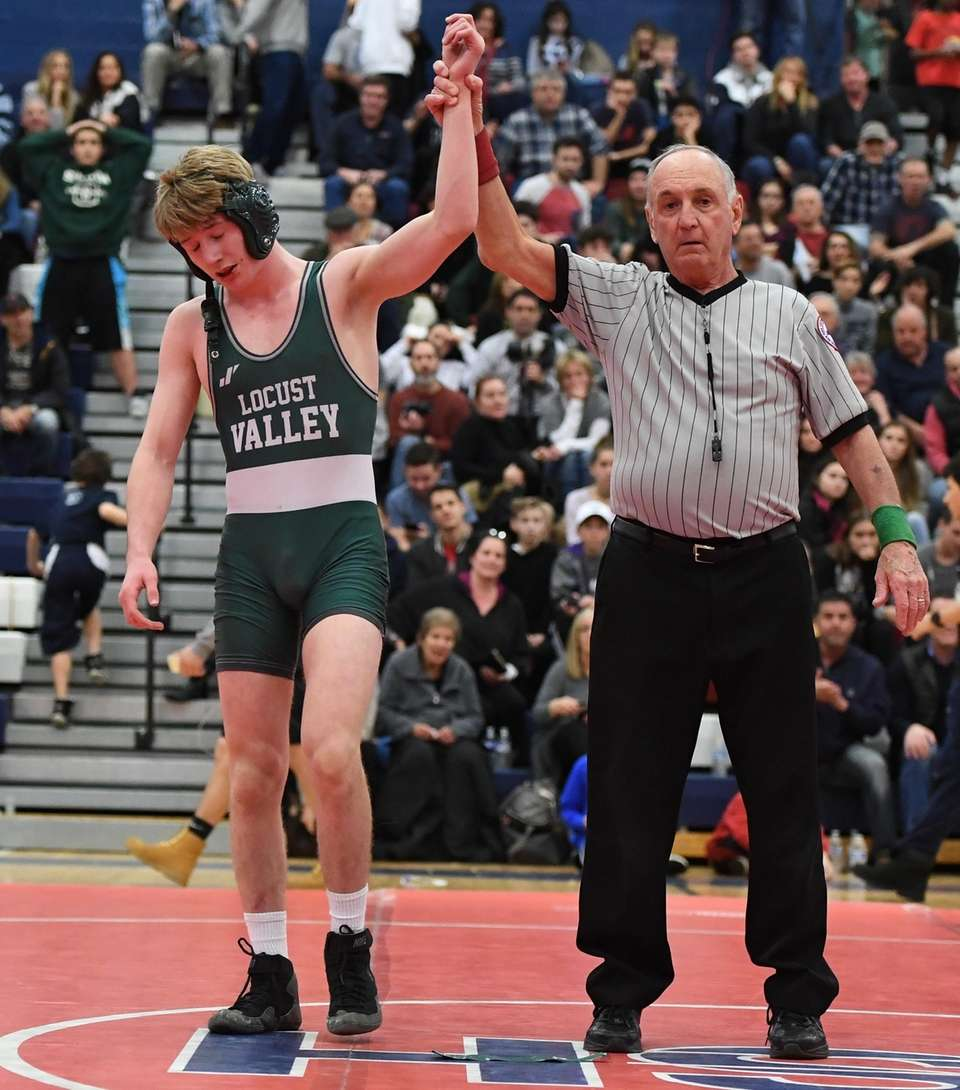 JACK WARD Locust Valley 138 pounds Division II