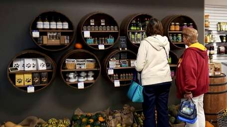 Locally made preserves, baked goods and spice mixtures
