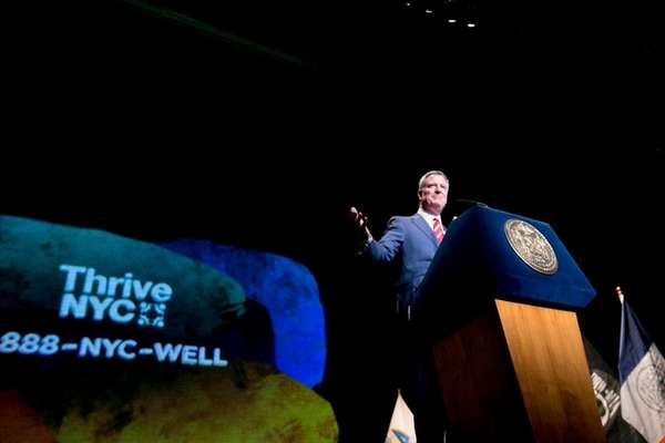 In his State of the City speech Monday