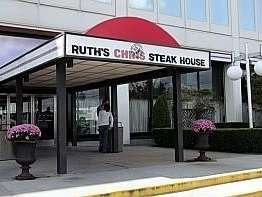 Outside Ruth's Chris Steakhouse in Garden City