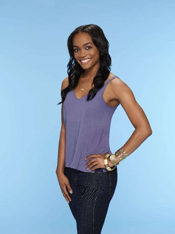 This image provided by ABC shows Rachel Lindsay,