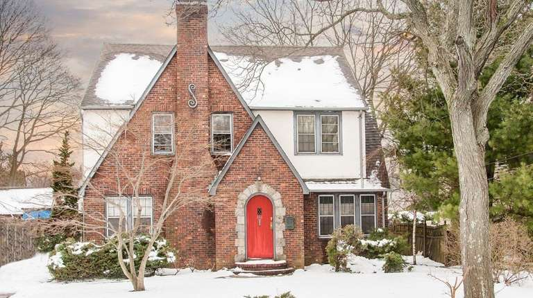 This brick North Baldwin Tudor is listed for
