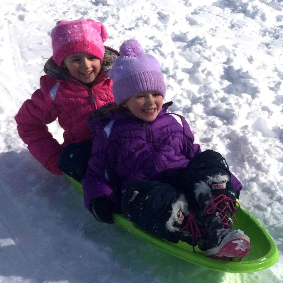 Katelyn and Jessica Turzer - having