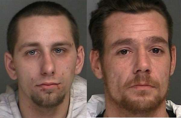 Jason Kinlaw, left, and Frederick Staria III, both