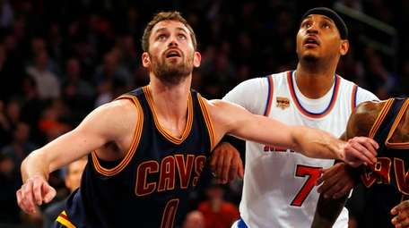 Carmelo Anthonyof the New York Knicks and Kevin