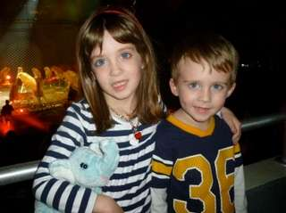 Lauren age 4 Caiden age 3 in 2013