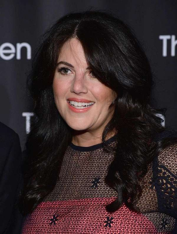 Monica Lewinsky attends an event on May 22,