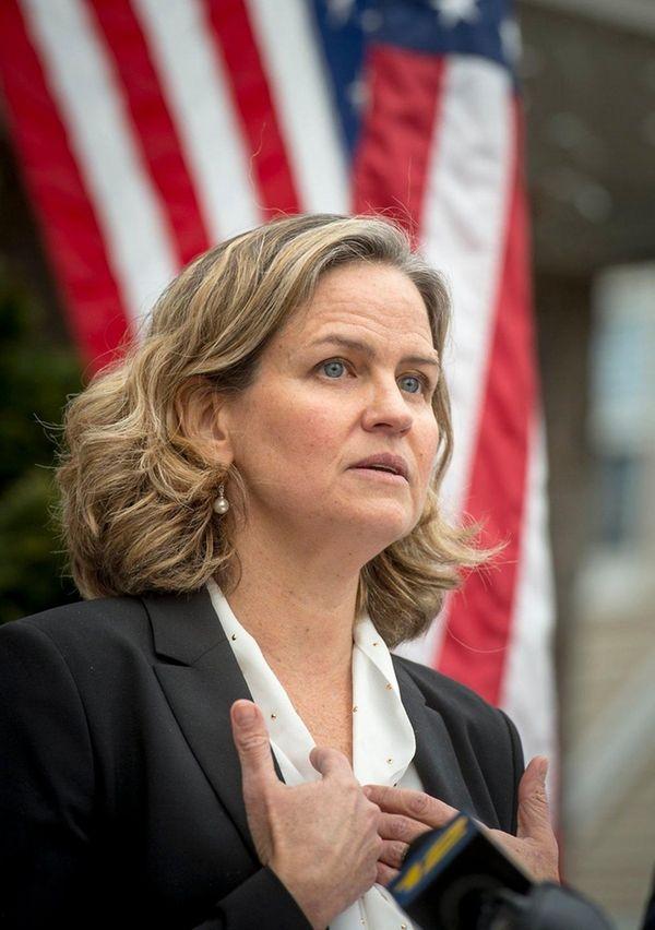 Nassau County Legislator Laura Curran, a Democrat who