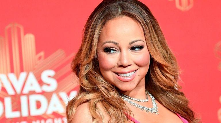 Mariah Carey attends an event on Dec. 2,