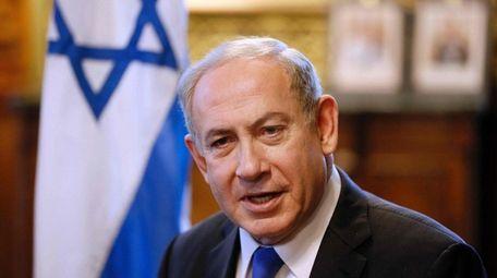 Israeli Prime Minister Benjamin Netanyahu is meeting with