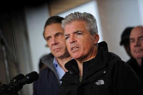 Suffolk County Executive Steve Bellone, seen Feb. 9,