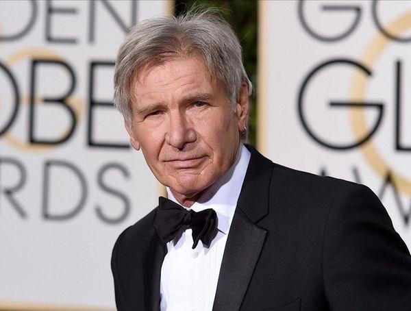 Harrison Ford arrives at the 2016 Golden Globe