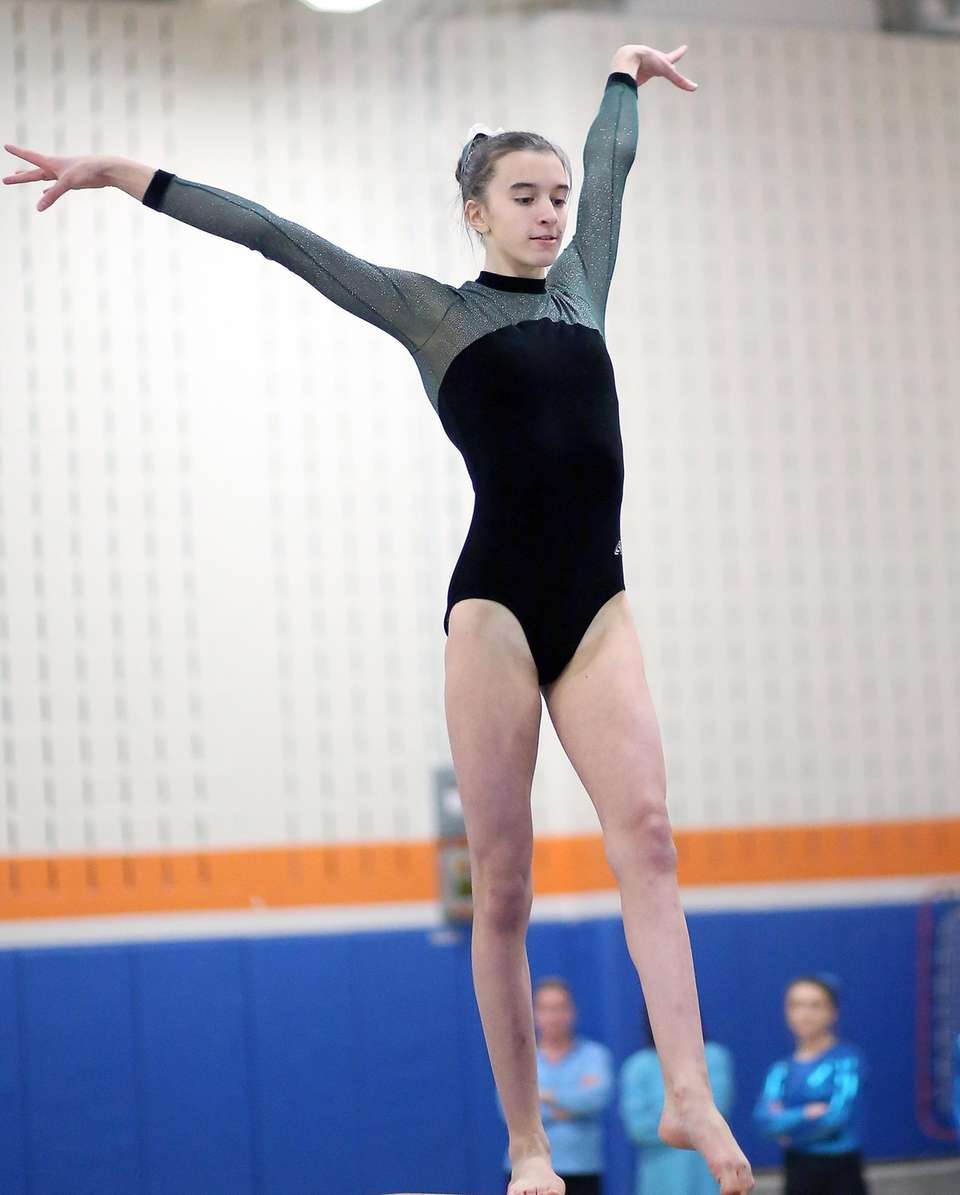 On the Beam, Joanna Signorile from Carle Place