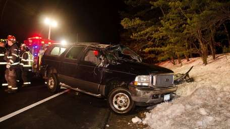 The Ridge Fire Department responded to a crash