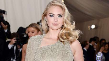 Kate Upton appears at the Met's opening of