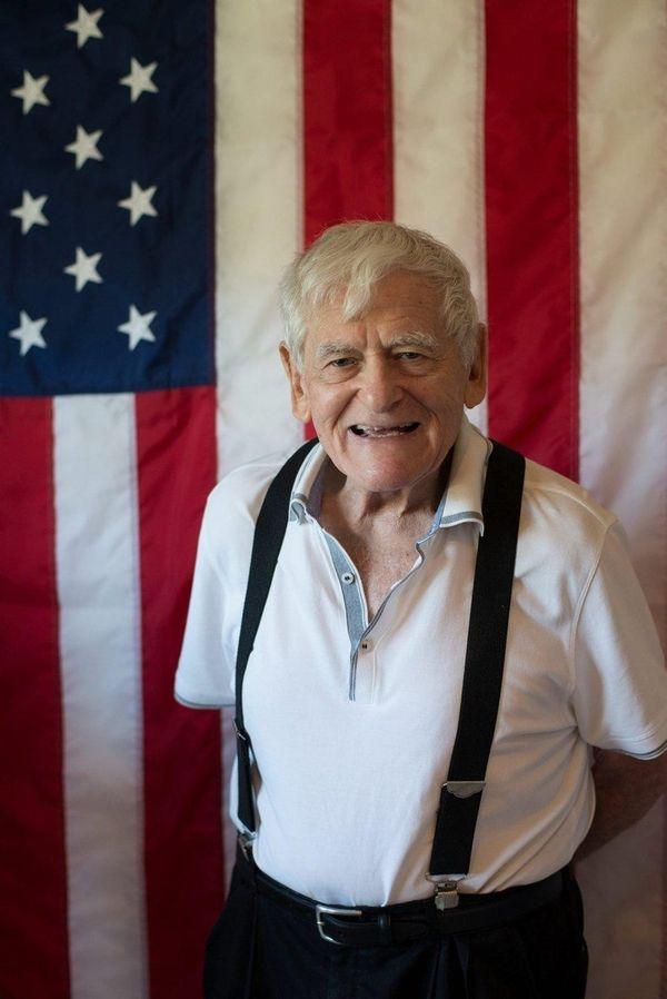 World War II veteran Hyman