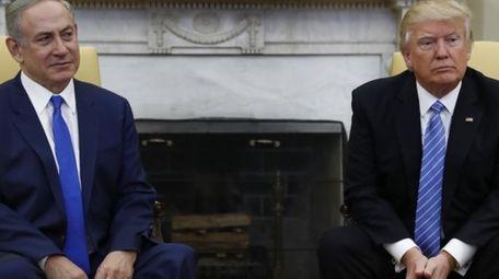 President Donald Trump and Israeli Prime Minister Benjamin