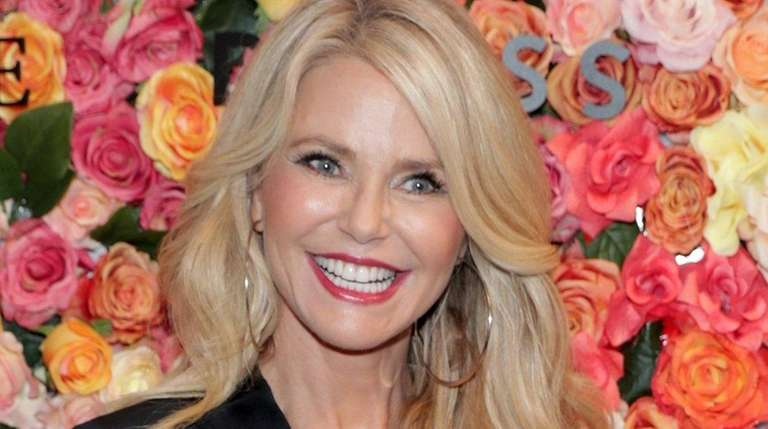 Christie Brinkley brought her two daughters to