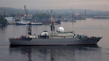 The SSV-175 Viktor Leonov, a Russian Vishnya class