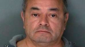 Cesar Gonzales-Mugaburu, 60, of Ridge, was arrested in