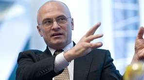 Andrew Puzder, CEO of CKE, the parent company