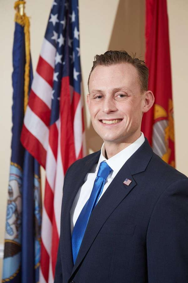 Darryl St. George announced his candidacy for Huntington