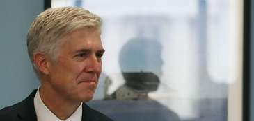 Neil Gorsuch, President Donald Trump's Supreme Court nominee,