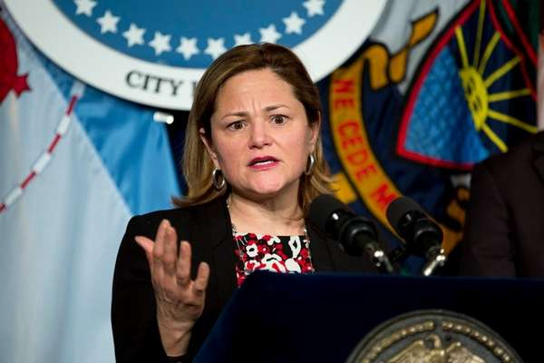 New York City Council Speaker Melissa Mark-Viverito in