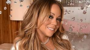 Mariah Carey performed