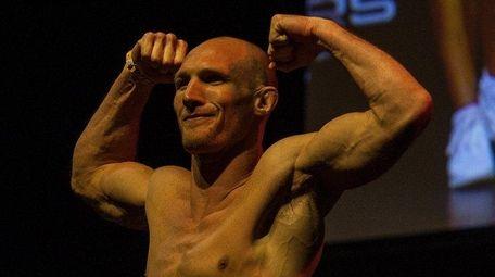 Lindenhurst's Ryan LaFlare at the UFC 208 ceremonial