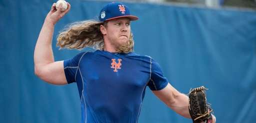 NY Mets pitcher Noah Syndergaard Monday Feb13, 2017