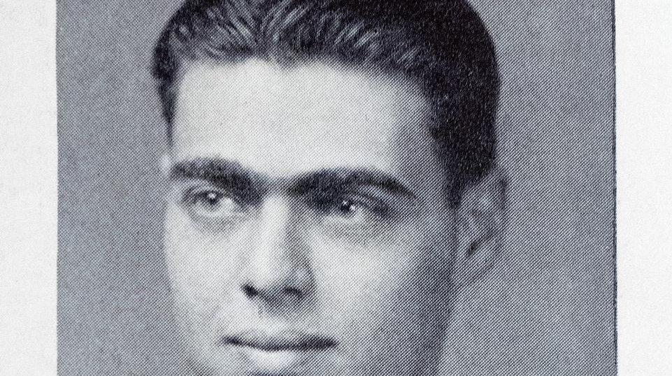 Arthur Wechsler in his 1933 graduation from Cooper