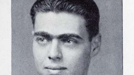 Arthur Wechsler in his 1933 graduation from Cooper
