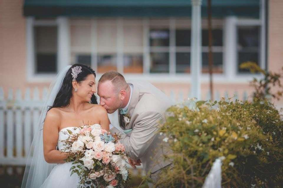 Heather and Joshua Lawler married 9/2016 at Southampton