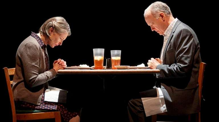 Annette O'Toole, left, and Reed Birney play a