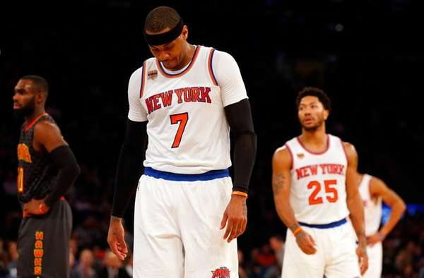Celtics Not Ruling Out Carmelo Anthony Trade With Knicks?