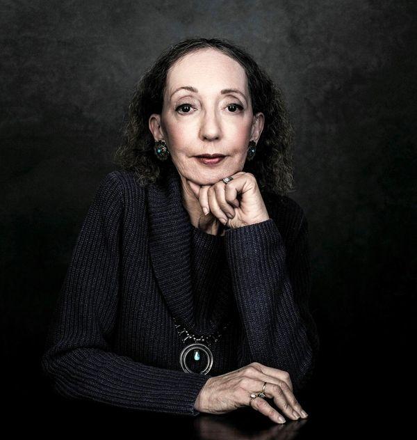 Joyce Carol Oates, author of