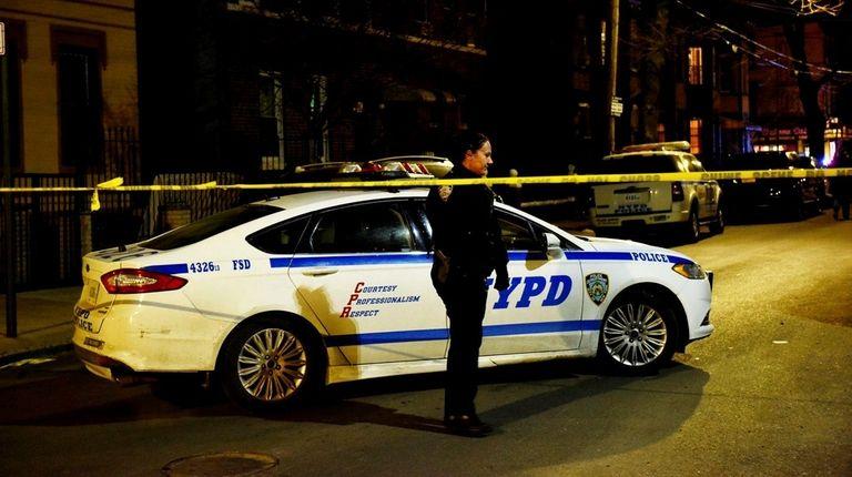 Scene at 890 Belmont Ave. in NY on
