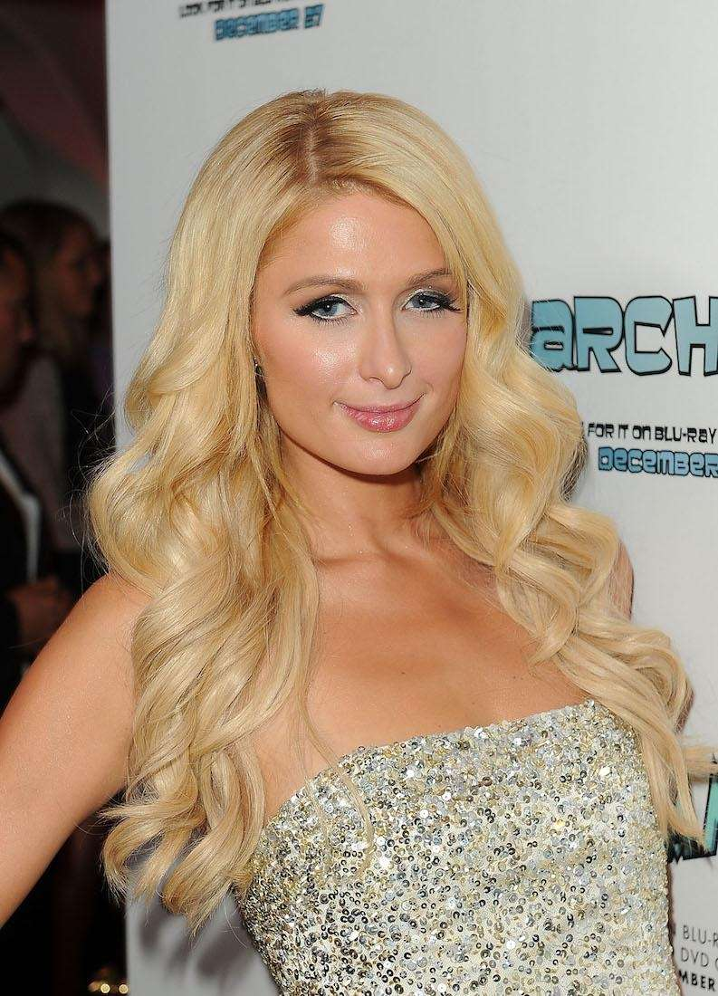 Paris Hilton at her Paris Electric Christmas Holiday