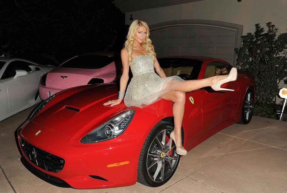 Paris Hilton at her Paris Electric Christmas Holiday