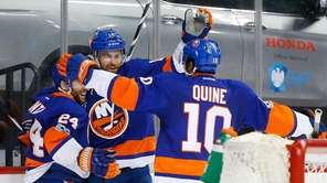 The Islanders bounced back against their archrivals on