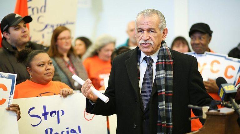 George Siberon, executive director of the Hempstead Hispanic