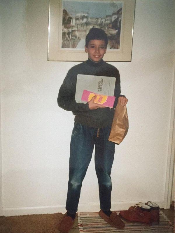 Kenan Trebincevic, at age 12, during his first