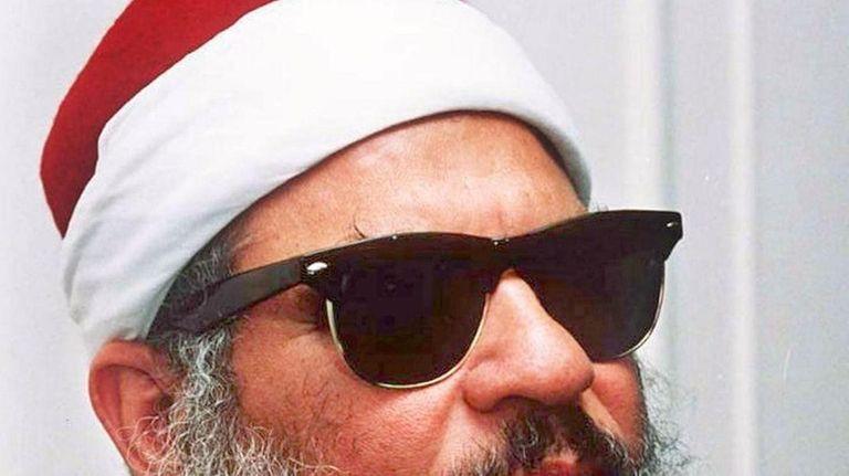 Omar Abdel-Rahman in April 2006. He died in