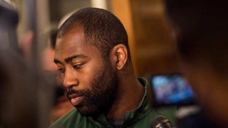 New York Jets cornerback Darrelle Revis on June