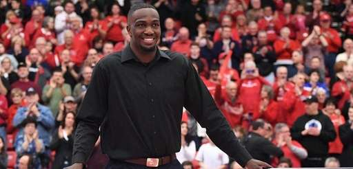 Former Stony Brook basketball player Jameel Warney has