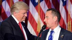 White House Chief of Staff Reince Priebus, with