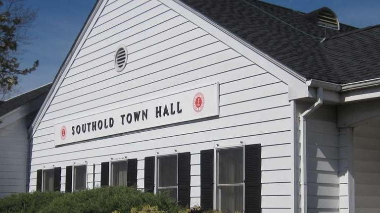 Southold Town Hall is seen in this 2012